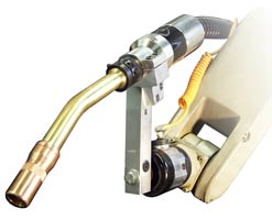 600 amp robotic water-cooled gun photo