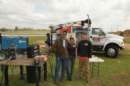 Image of the owners of Jolson Welding
