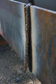 Image of flux cored slag