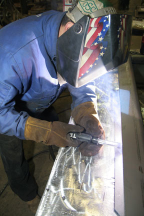Bernard Q-Guns and Centerfire consumables helped OEM Fabricators eliminate costly equipment changeovers to accommodate several different product runs per day.