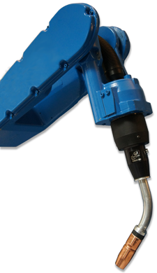 Image of TA3 on a Motoman robot