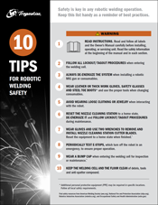 Click here to download the 10 Tips for Robotic Welding Safety Checklist