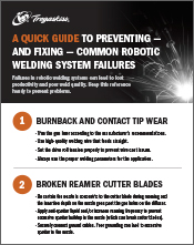 Click here to download A Quick Guide to Preventing and Fixing Common Robotic Welding Failures