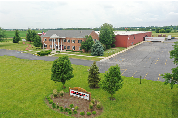 arial view of Bernard Welding located in Beecher, IL